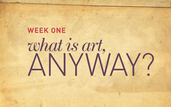 What is art, anyway?