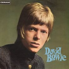 David Bowie - cover for self-titled album from 1969