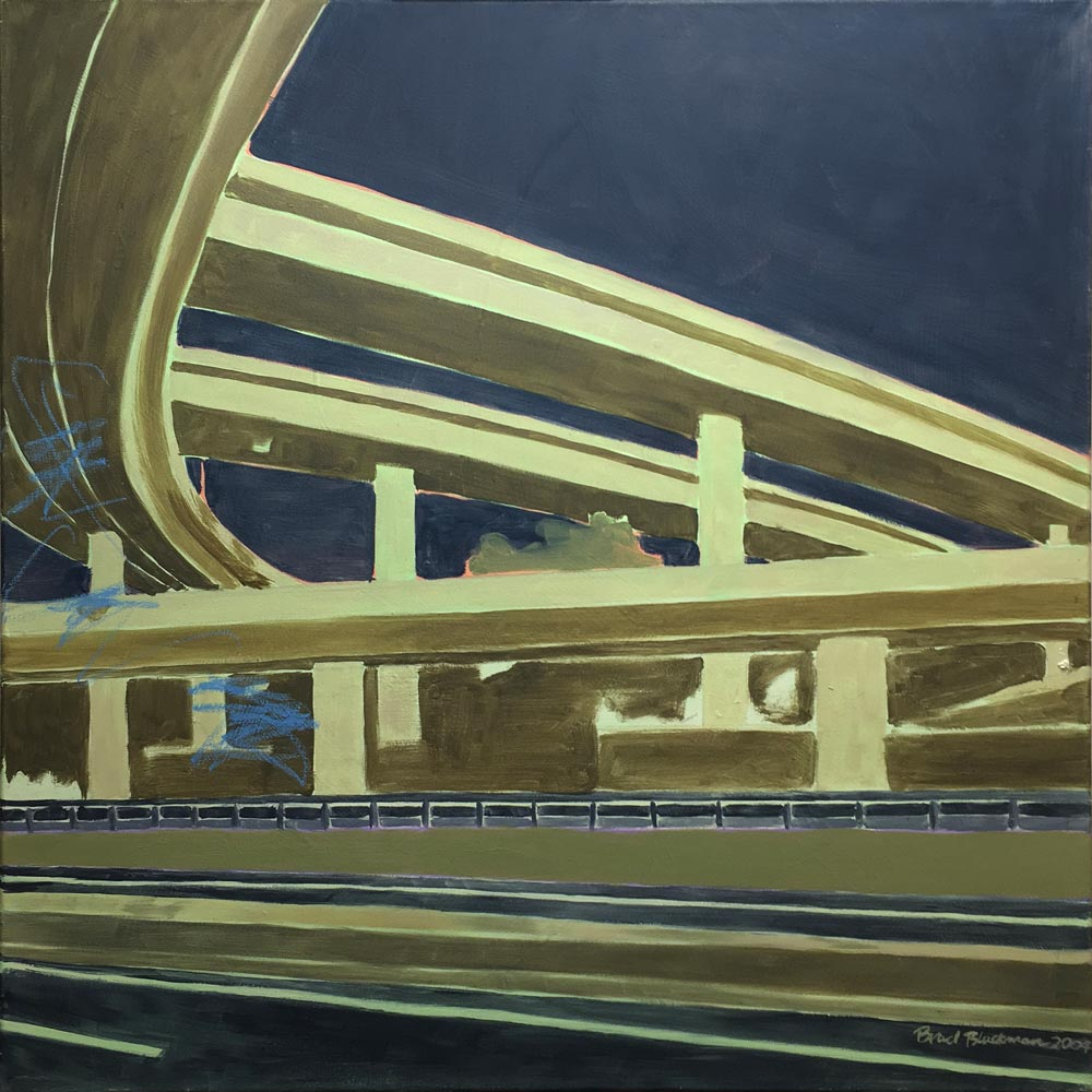 Brad Blackman, Melrose II. 2004, oil on canvas