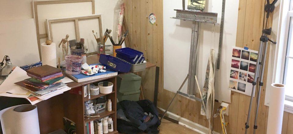 Studio Before Reorganizing