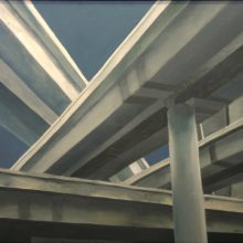 Brad Blackman, Interchange, 2004. oil on canvas, 30 x 40 inches