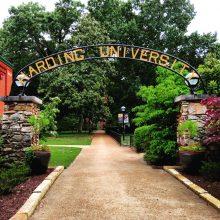 Harding University arch