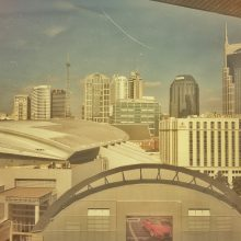 Image: Nashville skyline in late summer, early fall.