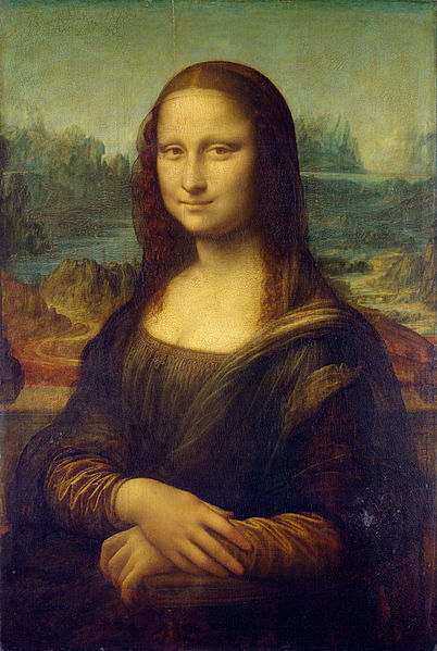 Image: Mona Lisa, by Leonardo da Vinci