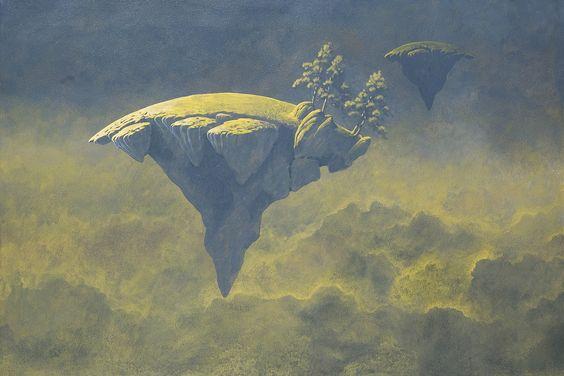 Roger Dean - Arrival in Cloud - 2014