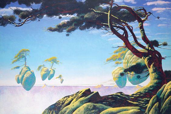 Roger Dean - Floating Islands - 1993
