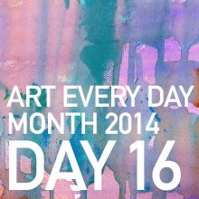 Art Every Day Month Day 16