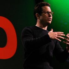 Image: J. J. Abrams giving TED Talk