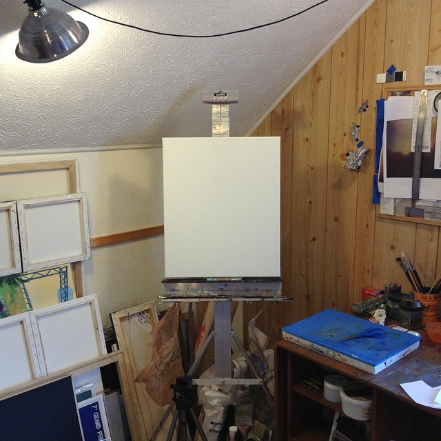 Easel in the Corner