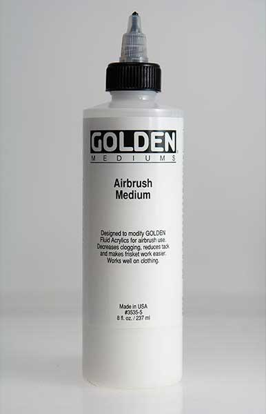 4 oz. bottle of Golden Airbrush Medium