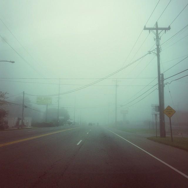 Instagram | Morning Fog Driving into Nashville - @bradblackman