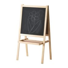 MÅLA Easel, softwood, white