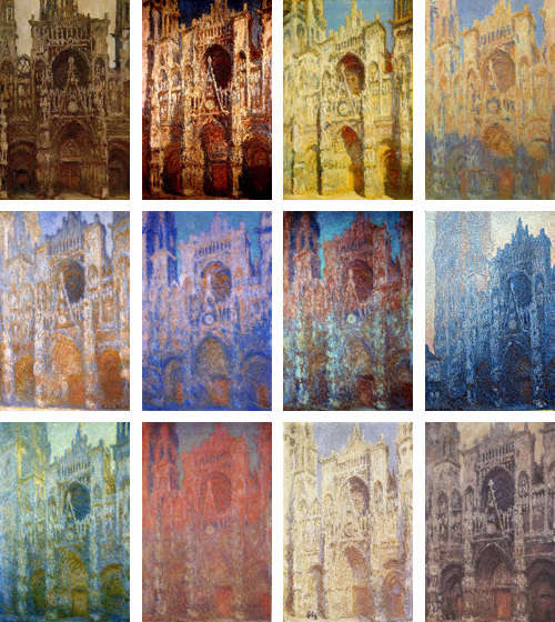 Monet's Series of the Rouen Cathedral