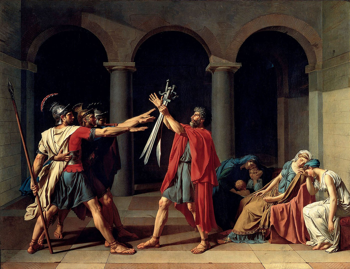 By Jacques-Louis David - wartburg.edu, Public Domain, https://commons.wikimedia.org/w/index.php?curid=5510374